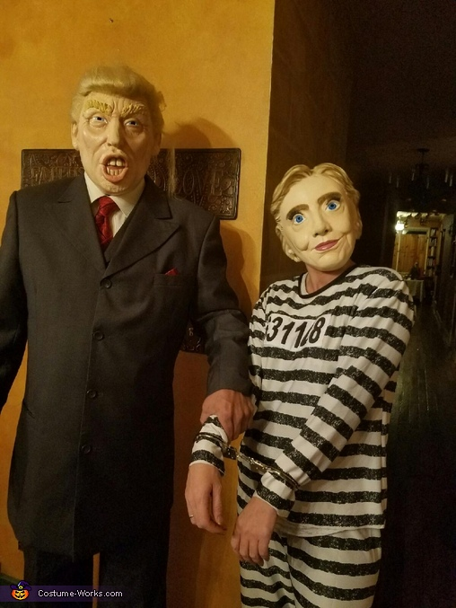 Hillary goes to Jail Costume
