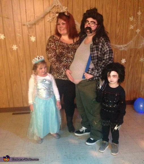 Hillbilly white trash family, Hillbilly with a Beer Gut Costume