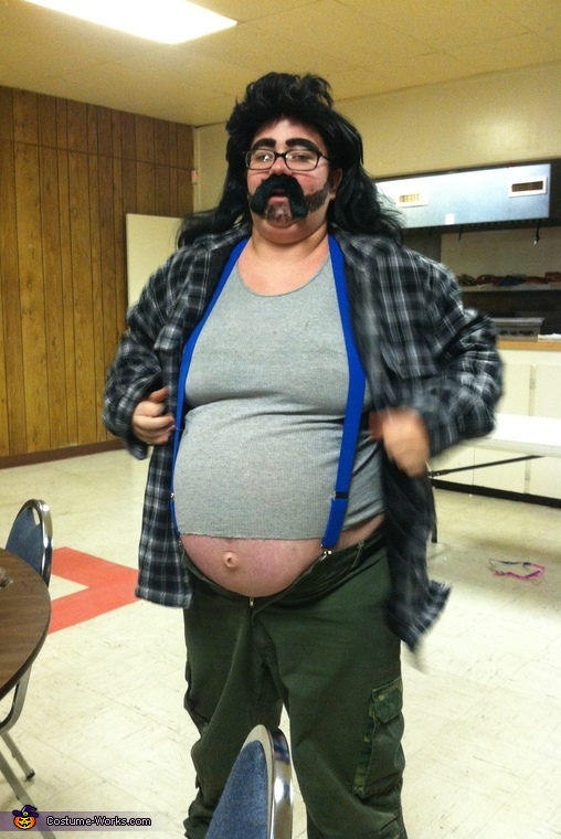 Hillbilly with a Beer Gut Costume