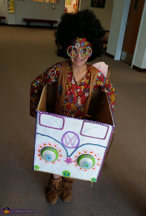 DIY Hippie Costume