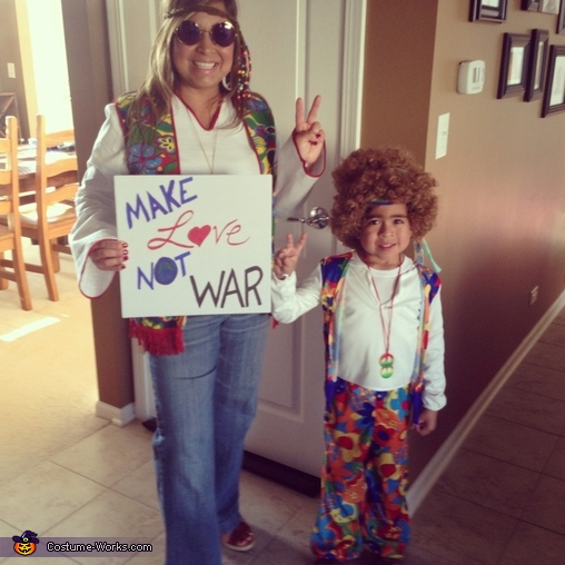 Hippy Family, Hippy Family Costume