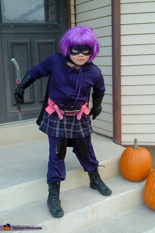 Hit Girl Kick-Ass Character Homemade Halloween Costume