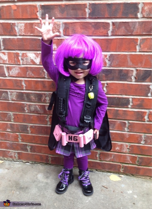 Hit Girl Toddler Costume