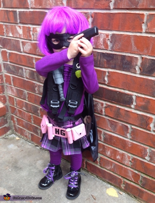 Ready for anything , Hit Girl Toddler Costume