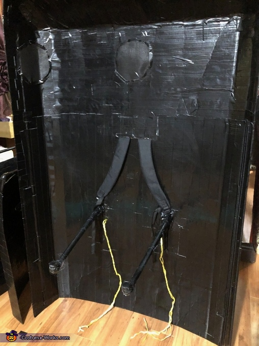 The inside of the buggy, Hitchhiking Ghosts from Disney's Haunted Mansion Costume
