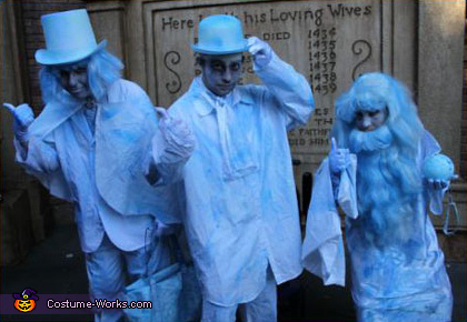 Hitching Ghosts - Homemade costumes for adults