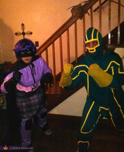 Hitgirl and Kickass Couple Costume