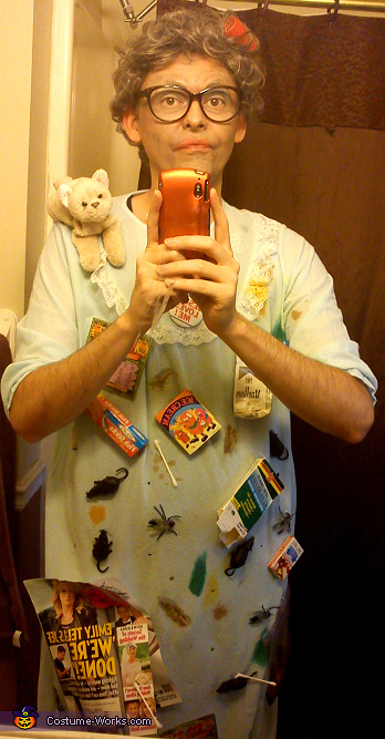 Hoarder Costume
