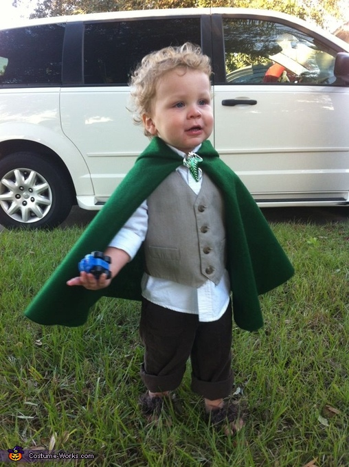Hobbit - Homemade costumes for babies
