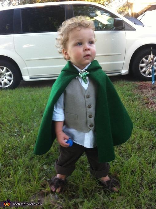 DIY Hobbit Baby Costume