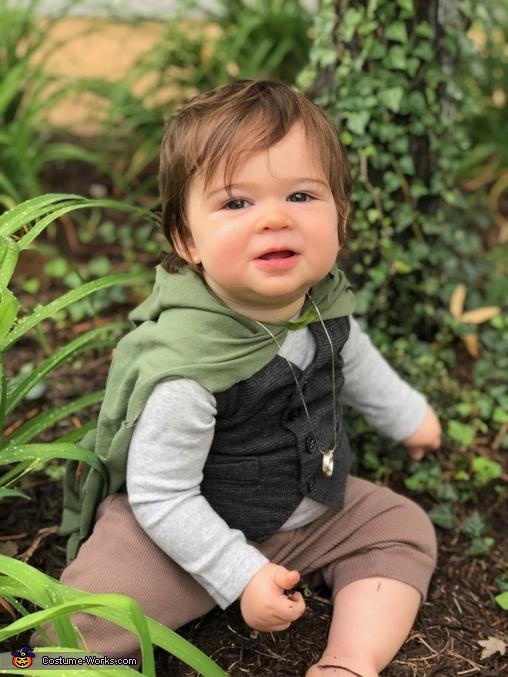 Hobbit Baby Homemade Costume