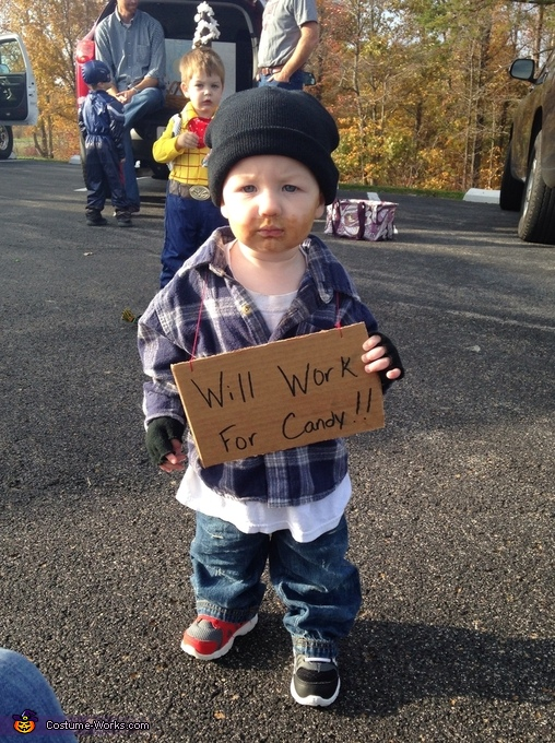 Hobo Baby Halloween Costume