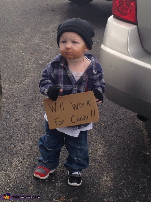 Easton , Hobo Baby Halloween Costume