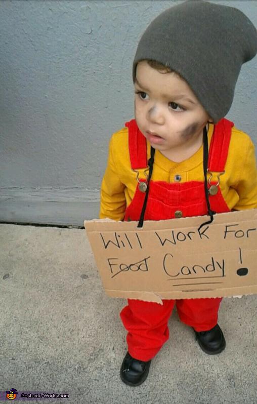 Easy Hobo Baby Costume