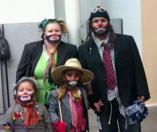 Hobo Family Costume