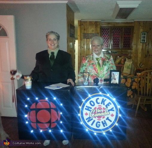 Hockey night in Cape Breton Costume