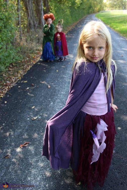Hocus Pocus Homemade Costumes for Kids