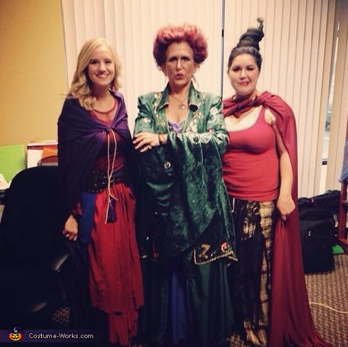 Three witches, Hocus Pocus Costume