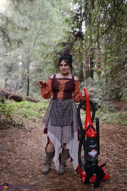 Hocus Pocus Homemade Costume