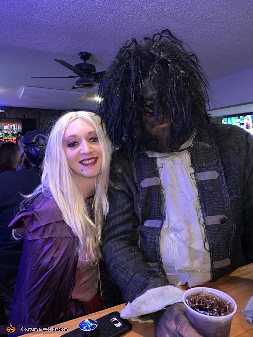 Sarah and Billy, Hocus Pocus Costume