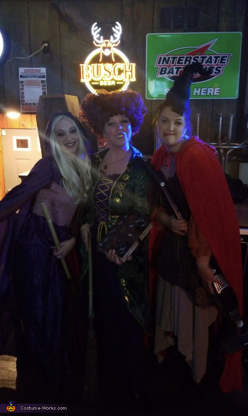 I put a spell on you!, Hocus Pocus Costume