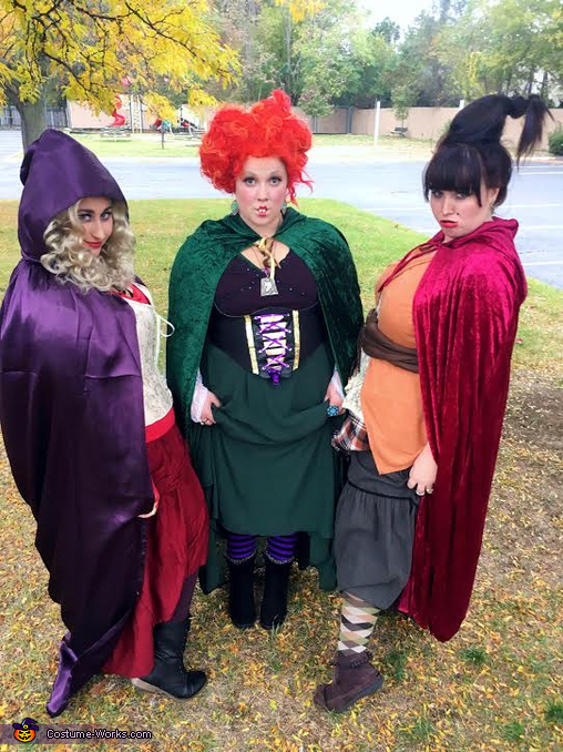 Hocus Pocus Cast Homemade Costume
