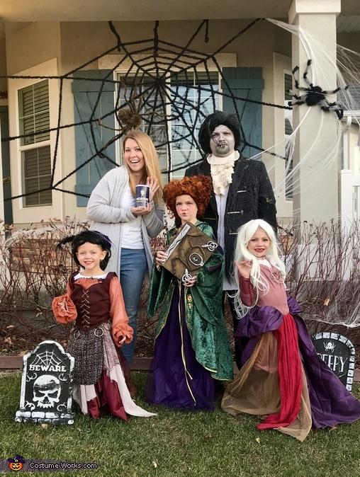 Hocus Pocus Family Costume