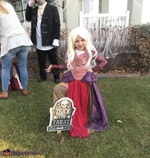 Sara Sanderson, Hocus Pocus Family Costume