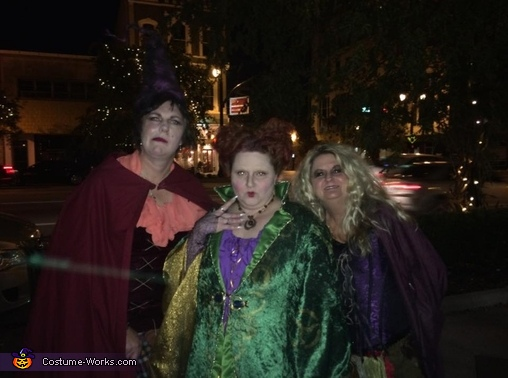Hocus Pocus Group Homemade Costume