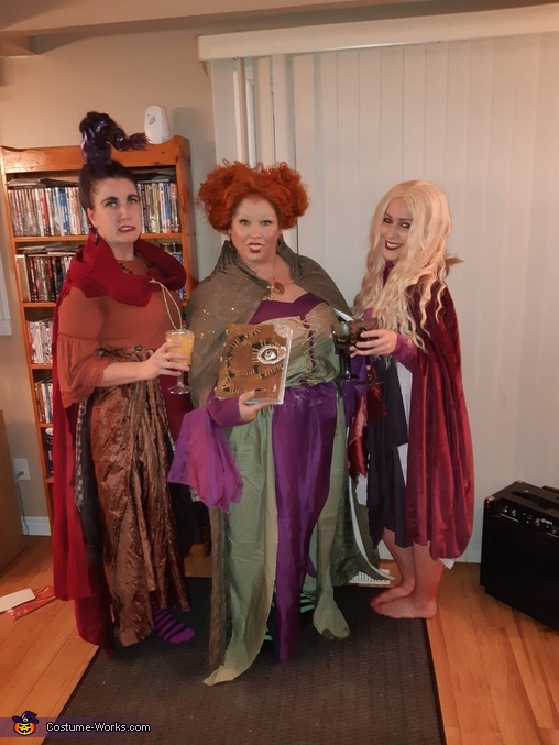 Hocus Pocus Sanderson Sisters Homemade Costume