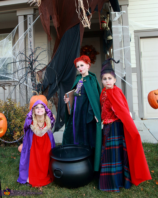 Sisters, Hocus Pocus Sanderson Sisters Costume