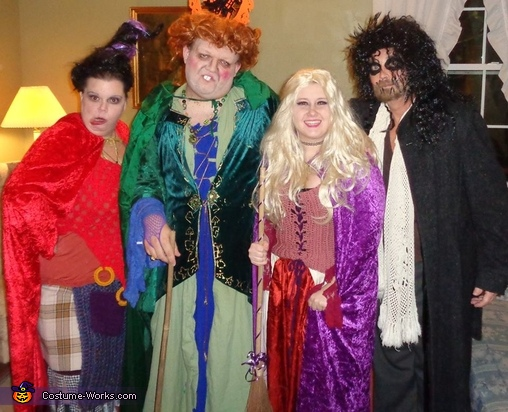 Hocus Pocus Sanderson Sisters and Billy Butcherson Costume