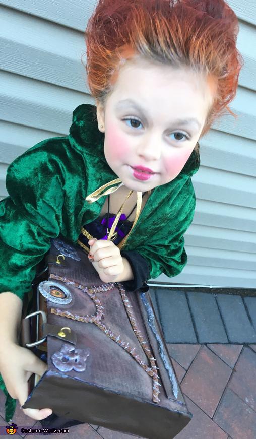 Hocus Pocus Winifred Homemade Costume