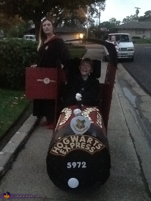 Hogwarts Express Homemade Costume