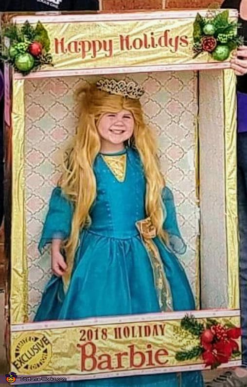 Holiday Barbie Costume