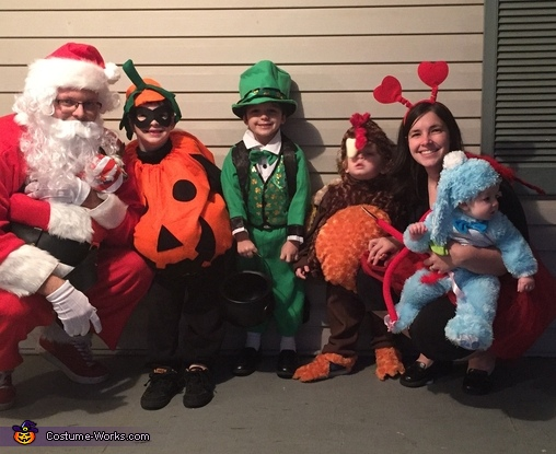 Holiday Family Costume