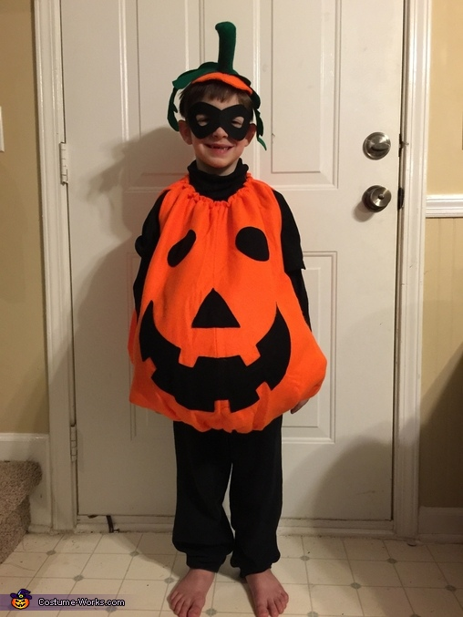 Jack o Lantern, Holiday Family Costume