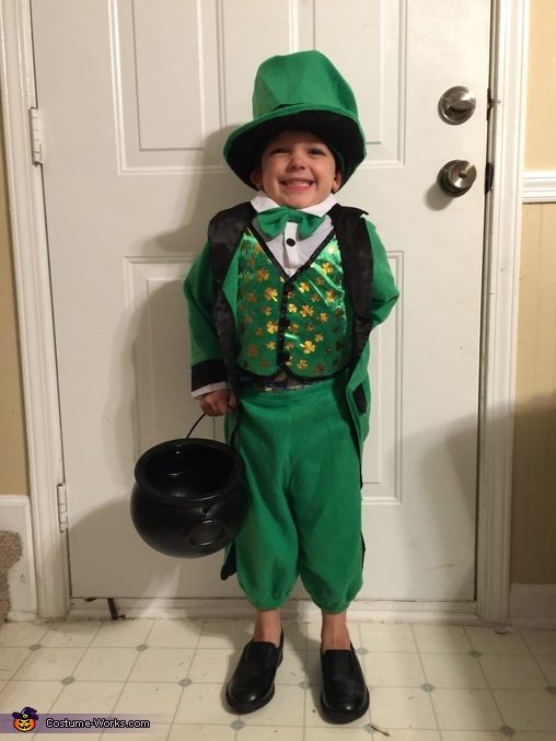 Leprechaun, Holiday Family Costume