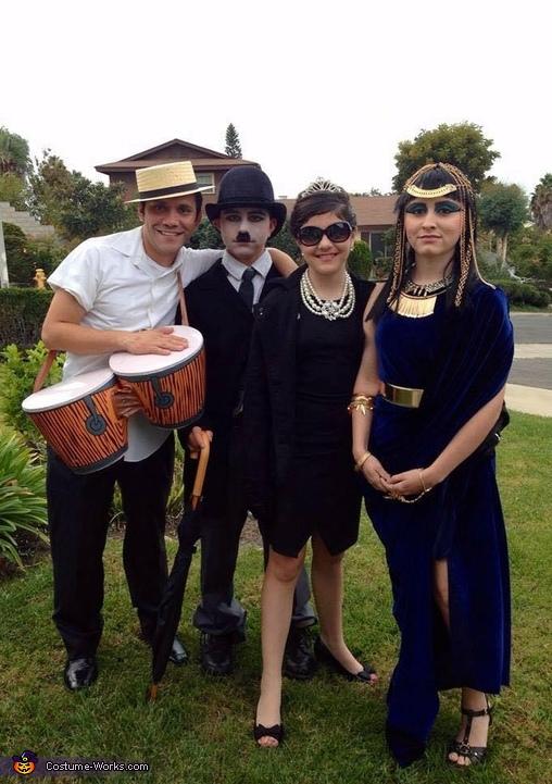 Hollywood Legends, Lucille Ball, Desi Arnaz, Charlie Chaplin, Audrey Hepburn, Elizabeth Taylor, Hollywood Legends Costume