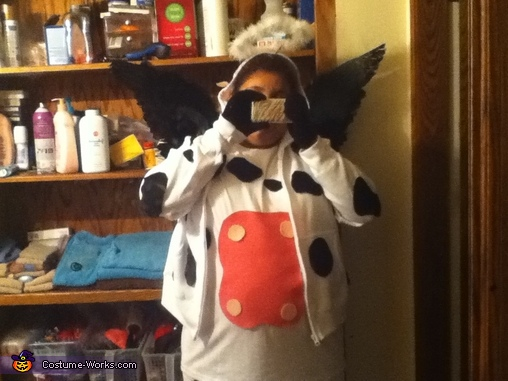 Another picture of the 'Holy Cow' , Holy Cow! Costume