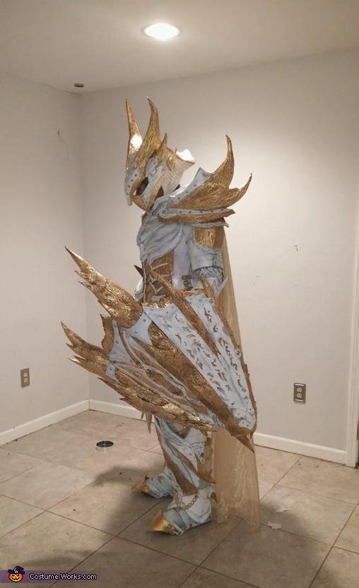Holy Daedric Armor Homemade Costume