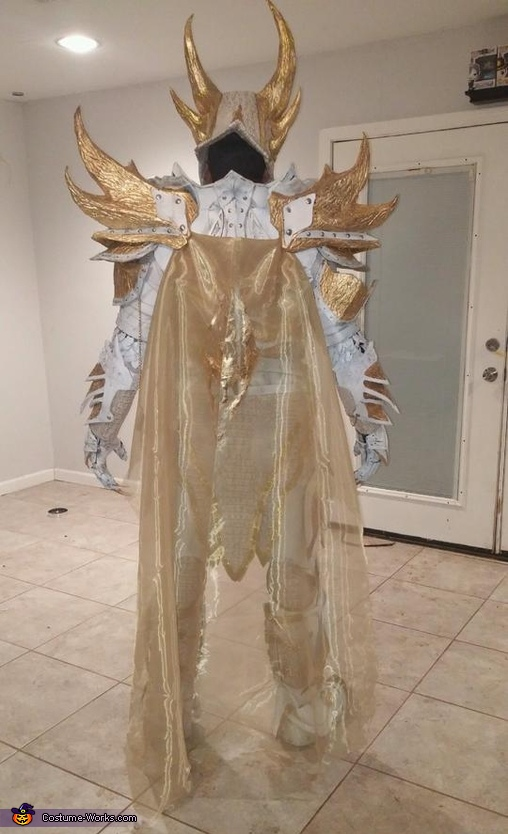 Holy Daedric Armor Homemade Costume