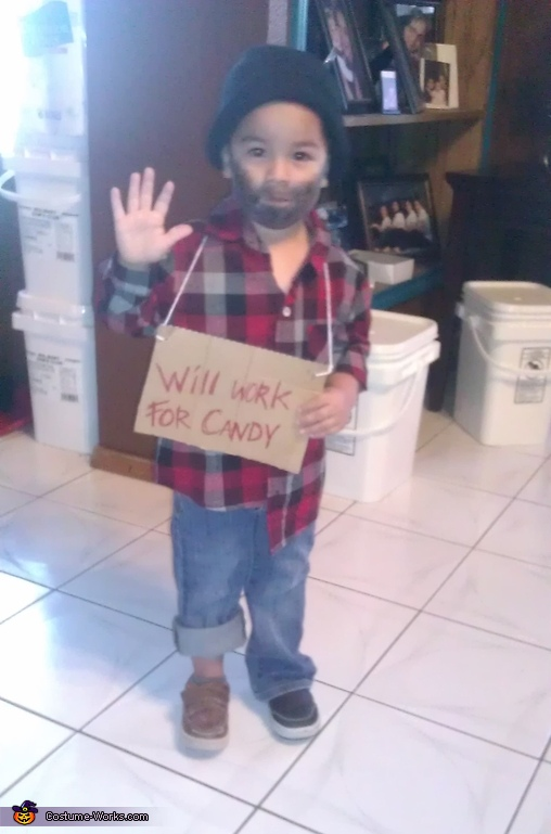 Hobo Boy Costume