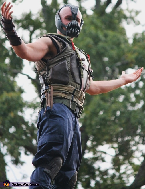 Homemade Bane Costume