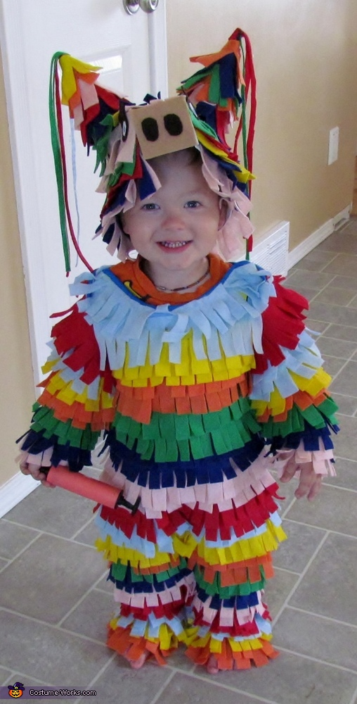 Homemade Pinata Costume