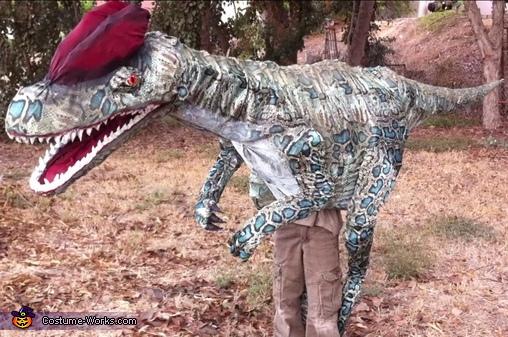Dinosaur - Homemade costumes for boys
