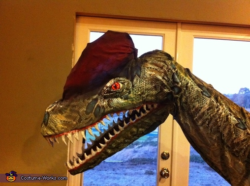 Homemade Dinosaur Costumes