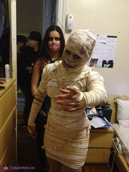 Mummy Homemade Halloween Costume
