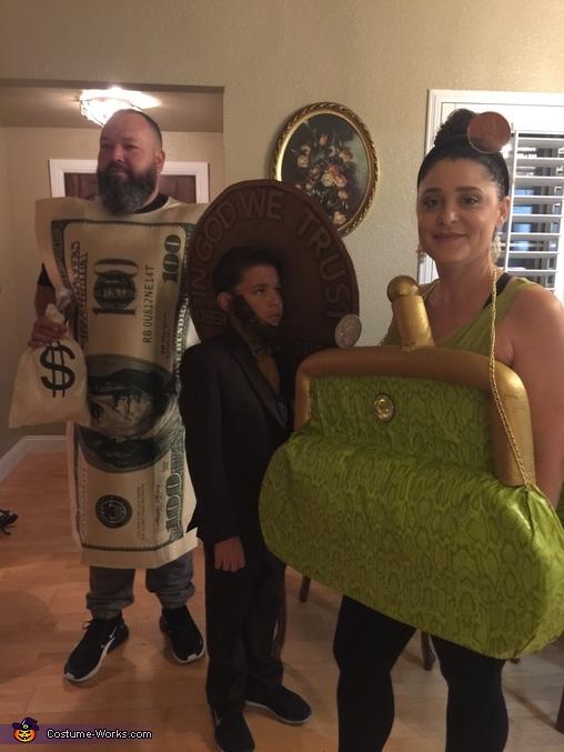 Honest Abe & Family Costume