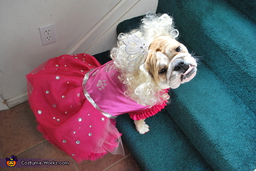 Posing for pageant photo... , Honey Boo Boo Costume